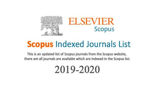 Scopus indexed journals