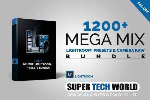 1200+ Mega Mix Lightroom Presets.